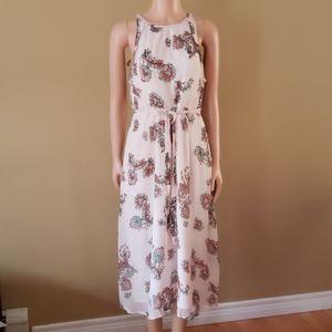 Fat Face belted flowy dress size 8